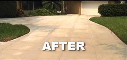 Driveway, Walkway, Sidewalk Cleaning